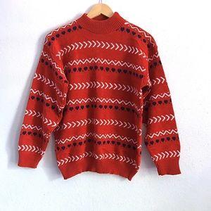 VINTAGE Oversized Slouchy High Crewneck Sweater